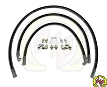 "Deviant 1/2"" LEAK FREE Transmission Cooler Repair Lines For 01-05 GM Duramax"
