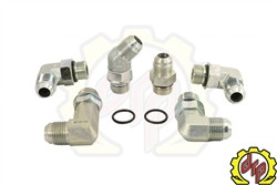 """Deviant High Performance 5/8"""" Transmission Cooler Repair Lines for 2006-10 GM Duramax 6.6L"""
