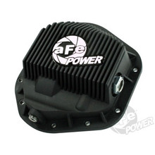 Front Differential Cover (Black; Pro Series); Ford Diesel Trucks