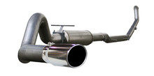"MACH Force XP 4"" Turbo-Back Stainless Steel Exhaust System; Ford Diesel Trucks"