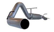"LARGE Bore HD 4"" Cat-Back Stainless Steel Exhaust System; Ford Diesel Trucks"