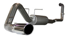 "MACH Force XP 4"" Turbo-Back Stainless Steel Exhaust System; Ford Excursion"