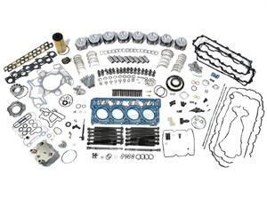 2003-2004 Ford Powerstroke Complete F250-F350-F450 Diesel 6 0 Engine  Overhaul Kit w/ Replacment Round EGR Cooler