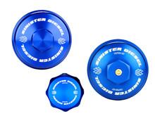 Sinister Diesel Billet Blue Cap Kit for Ford Powerstroke 2008-2010 6.4L