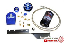 03-07 Ford 6.0L Powerstroke Sinister Diesel External Oil Filter System
