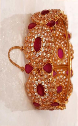 Ladies Gold Plated Bangles / Bracelets  Texas