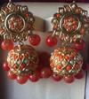online shop Artificial Fashion Jewelry Coral Jhoomki