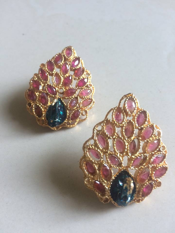f051a3691 online shopping Artificial Jewelry Earring Peacock