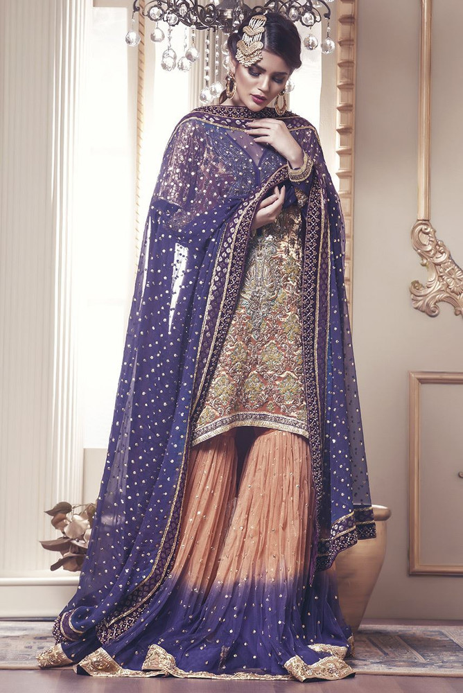 embroidered Designer Anarkali Dresses Dubai