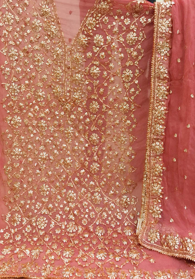 Badla Mukaish Gota Embroidery Suit Lords 1