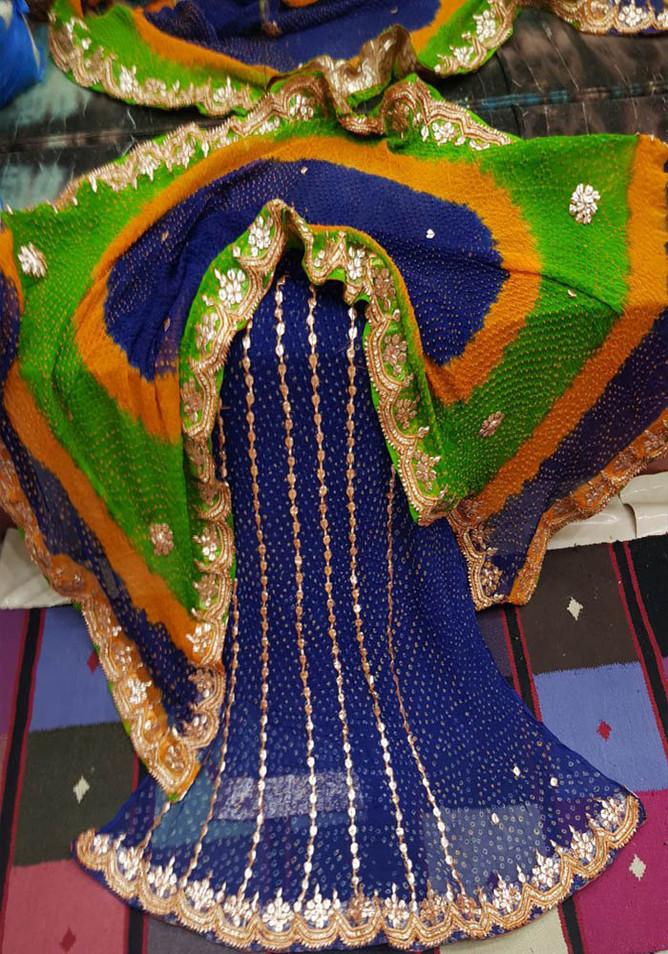 Badla Mukaish Gota Embroidery Suit New York 2