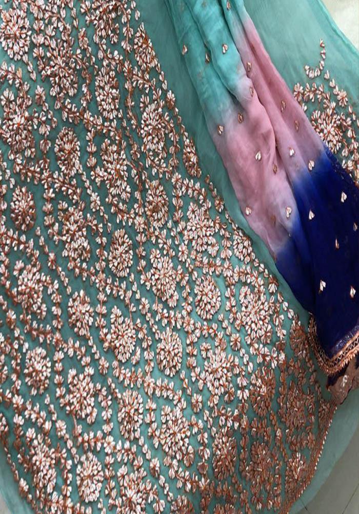 Badla Mukaish Gota Embroidery Karachi