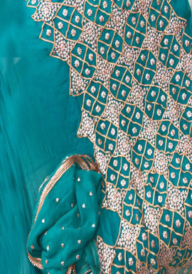 Badla Mukaish Gota Embroidery Barkely 1