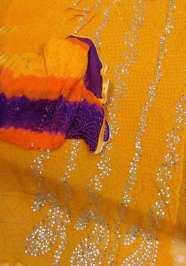 Badla Mukaish Gota Embroidery San Jose 1