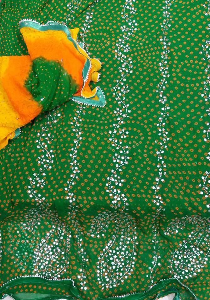 Badla Mukaish Gota Embroidery USA 1