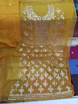 buy Badla Mukaish Gota Embroidery Leeds