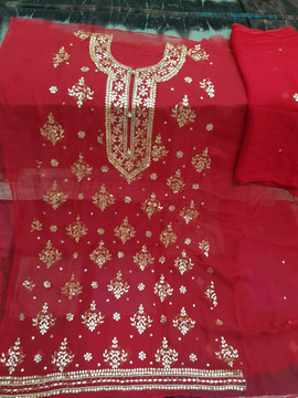 buy Badla Mukaish Gota Embroidery Chicago