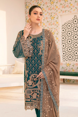 Buy Designer Pakistani Party Dresses Online at Gifts2eastBoutique.com for online shopping