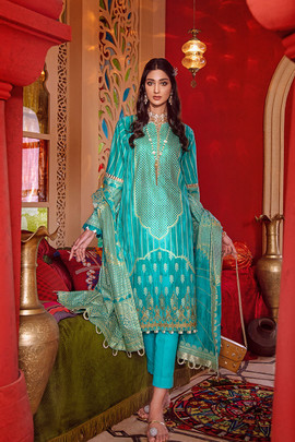 Gul Ahmed Party Wear Collection Dubai
