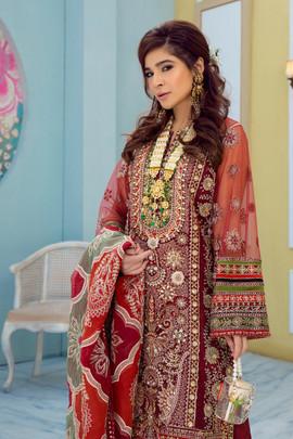 Maryam Hussain Wedding Collection Pakistan