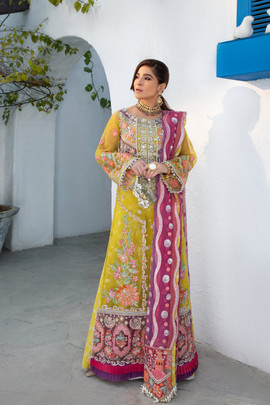 Maryam Hussain Wedding Collection Karachi