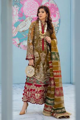 Maryam Hussain Wedding Collection USA