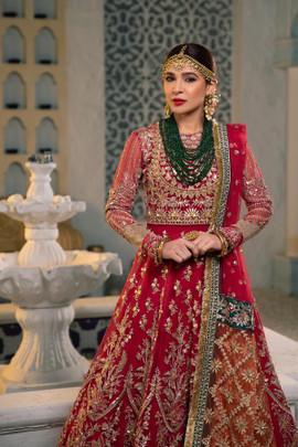Maryam Hussain Wedding Collection Taxes