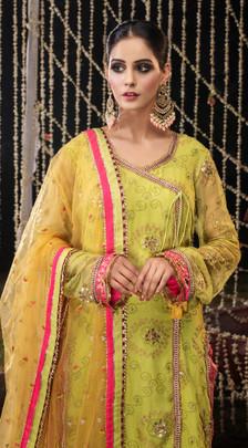 Traditional Mehndi Dresses USA