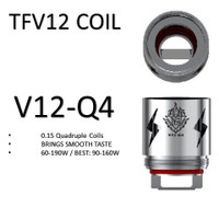 Smoktech TFV12 Coils V12-Q4 (3 pack)