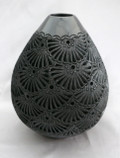 DR-68 Teardrop Vase with no Neck Filigree