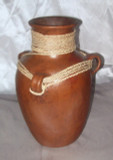 HMB-26 Water Vessel Brown with Braid