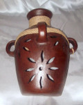 HMB-39A Wall Jar with Braid Filigree