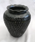 M-14 Shoulder Vase with Frilled Mouth Filigree