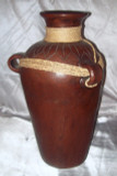 M-18 Water Vessel Brown with Braid