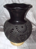 BC-4 Flower Vase with Elongated Frilled Mouth