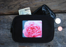 Pink Rose Hemp IPhone/Wallet Case