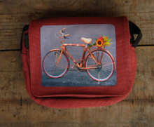 Bamboo Bike Hemp Small & Large City Slicker Purse/Bag