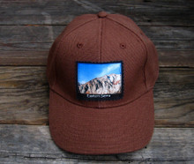 Convict Lake #826 Eastern Sierra Hemp Baseball Hat