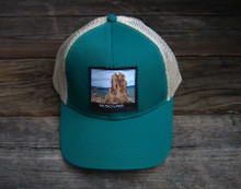 Mono Lake Tufa #829 Keep on Truckin' Organic Cotton Trucker Hat