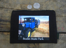 Blue Truck #812 Bodie State Park Medium & Large Hemp Coin Purse