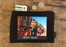 Borax 20 Mule Team Wagon #920 Death Valley National Park Medium & large Hemp Coin Purse