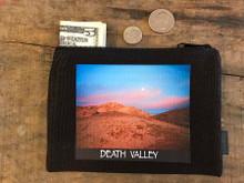 Texas Spring Sunset #926 Death Valley National Park Medium & Large Hemp Coin Purse
