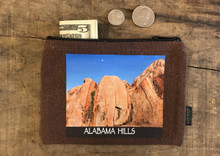 Alabama Hills #910 Medium & Large Hemp Coin Purse