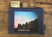 Alabama Hills Moonrise#900 Medium & Large Hemp Coin Purse