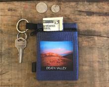 Texas Spring Sunset Death Valley National Park #926 Hemp Key Coin Purse