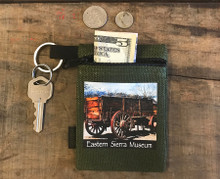 Wagon #930 Eastern Sierra Museum  Hemp Key Coin Purse