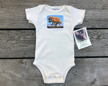 Cottonwood Tree #817 Eastern Sierra Organic Cotton Baby Onesie