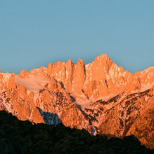 Mount Whitney #905 Eastern Sierra Greeting Card