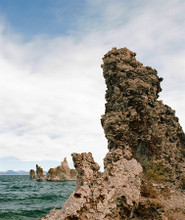 Mono Lake Tufa #828 Greeting Card