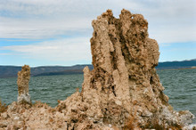 Mono Lake Tufa #829  Greeting Card